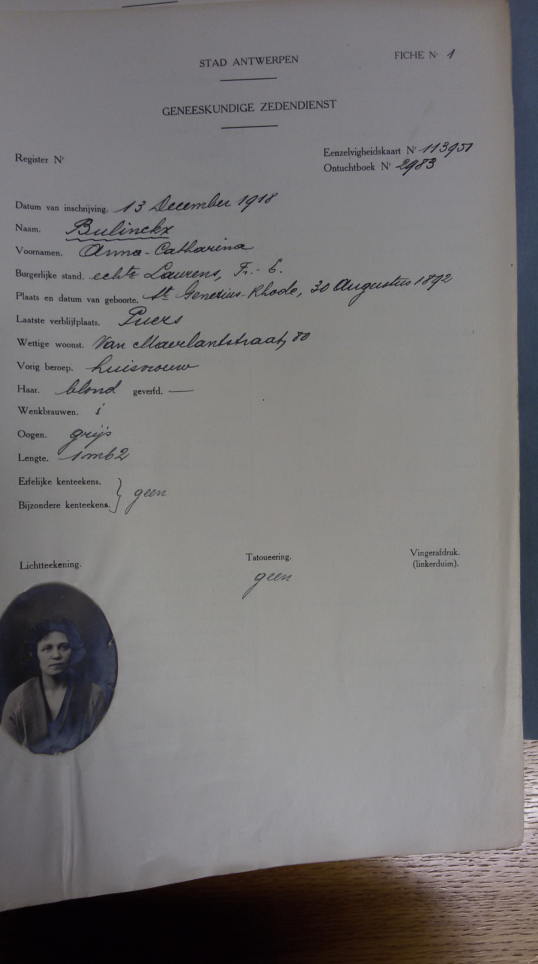 Anna Catharina Bulinckx